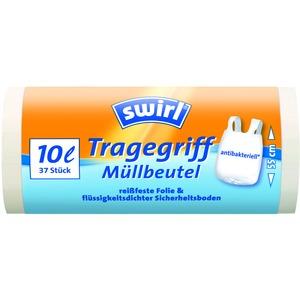 10 l Tragegriff Müllbeutel   VPE, Swirl® 10 l Tragegriff Müllbeutel, VPE