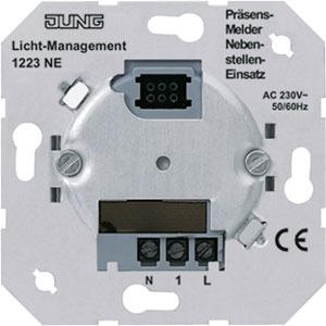 1223 NE, Nebenstellen-Einsatz 3-Draht, zur Verwendung in Wechsel- und Kreuzschaltungen