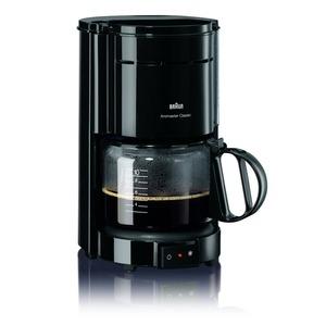 KF 47/1 schwarz, Braun Kaffeemaschine, schwarz