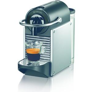 EN 125.S, PixieNespresso System, Flow Stop, kurze Aufheizze, Electric Aluminium