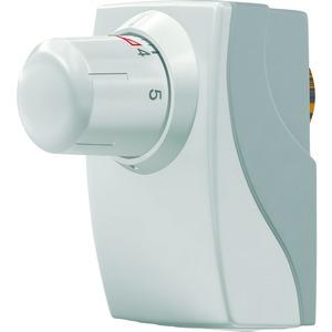 en:key Ventilregler mit integrierter EnOcean Funkschnittstellezur selbstlernenden, energieautarken und präsenzabhängigen Regelung der Raumtemperatur in Verbindung mit einem en:key Raumsensor.
