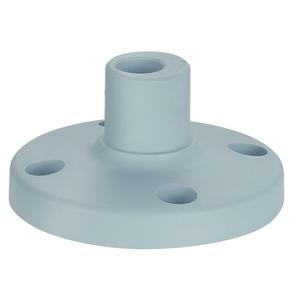 Fuß für Rohr D25mm. Kunststoff  GY