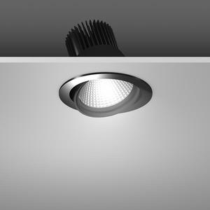 Einbaustrahler LED/23,9W-3100K D157, H142, engstr., 2250 lm