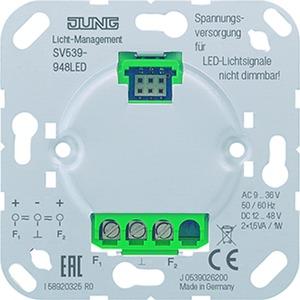 SV 539-948 LED, Spannungsversorgung, AC/DC 9 bis 48 V ~/=, für LED-Lichtsignal