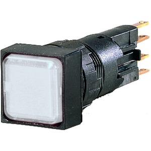 Q25LF-WS, Leuchtmelder, flach, weiß