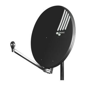 HIT FESAT 85 SG, Offset-Parabolreflektor, 85cm, schiefergrau, Alu