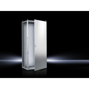 TS 8808.500, Topschrank-System lackiert eintürig, mit Montageplatte, RAL 7035, TS 8808500