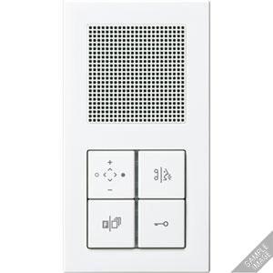 TK IS AC M 514 AL, TKM Innenstation Audio Komfort, Rahmen, Tastensatz