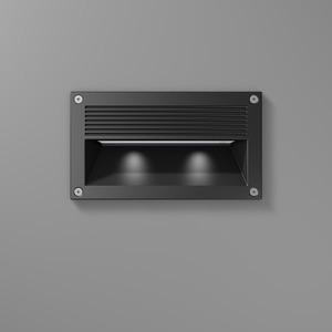 Einbauleuchte LED/12,6W-4000K 235x133x118, 250 lm