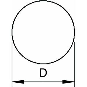 RD 10-V4A 20, Rundleiter 20m Ring 10mm, V4A, 1.4571/1.4404