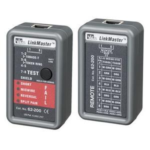 LinkMaster™, VERDRAHTUNGSPRÜFER UTP/STP-KABEL   RJ45/RJ11 ANSCHLUSS