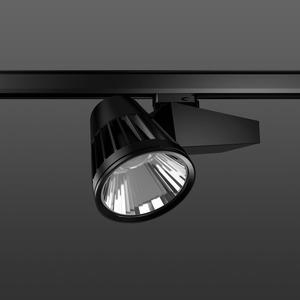 Strahler LED/45W-2700K 290x120, engstr., 3400 lm