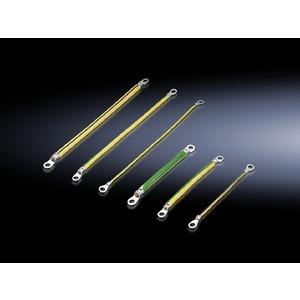 SZ 2565.120, Erdungsbänder M8-M8, Querschnitt 10 mm², Länge 300 mm, Preis per VPE, VPE = 5 Stück
