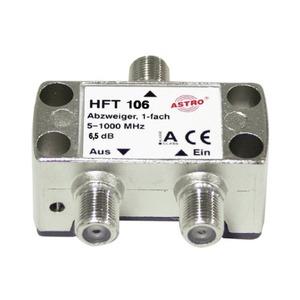 HFT 106, Abzweiger 1-fach 6,5 dB, 5 - 1200 MHz