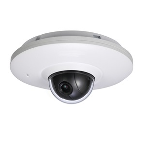 SANTEC 3 MP Mini IP-PT-Dome 3,6 mm Festobjektiv, IR-LED, IP-66, PoE