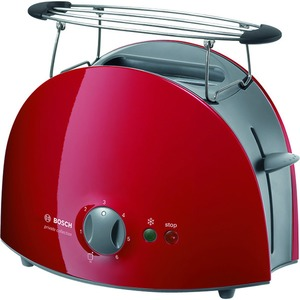 Toaster Kompakt   StiWa  rot