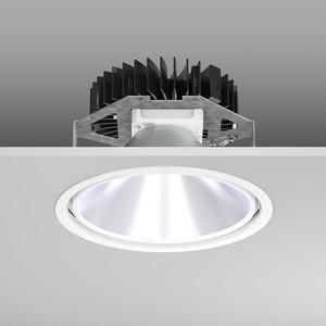 Einbaudownlight LED/21W-3000K D241, H150, DALI, 2100 lm