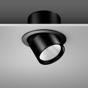 Einbaustrahler LED/27W-3000K D180, H170, eng, 2700 lm