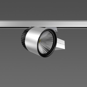 Strahler LED/45W-3100K 227x146, breit, 3900 lm