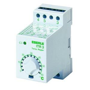ITR-3 60, Temperaturregler auf Tragschiene 0...60C, AC 230V, 1We, potential frei, 10 A