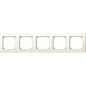M-SMART-Rahmen, 5fach, weiß glänzend