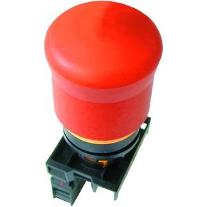 M22-PV/K11, NOT-HALT/AUS-Taste, d = 38 mm, zugentriegelt, unbeleuchtet, 1 Öffner, 1 Schließer, Fronteinbau