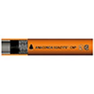 Schutzschlauch Voll-Kunststoff PVC C.N.P. -orange -1/2 -60 m
