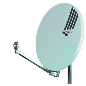 HIT FESAT 75 LG, Offset-Parabolreflektor, 75cm, lichtgrau, Alu