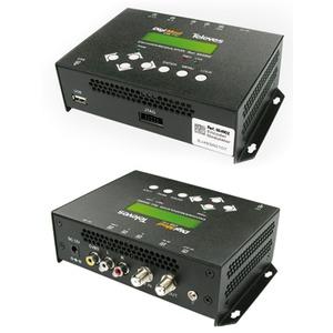 Modulator AV in COFDM mit Netzteil und Bedieneinheit