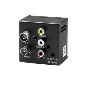MOD2, HF-Modulator. Audio/Video (Cinch) HF-Einspeisung für TV oder Antennenanlage