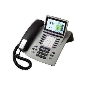 ST 45 AB silber, Systemtelefon inkl. Anrufbeantworter für Anlagen mit S0- und UP0-Schnittstelle