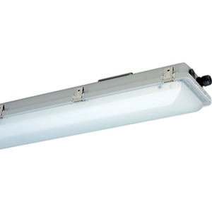 nD866F 12L60, Ex-geschützte LED-Wannenleuchte ExeLed 2 für Zone 2/22 mit satinierter Abschlusswanne, 6.060lm, 46W, IP66, SK I