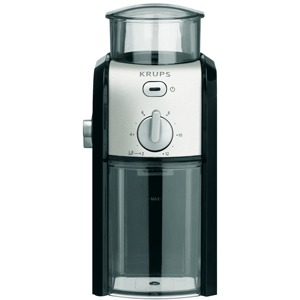 Kaffee-Espresso-Mühleschwarz/chrom