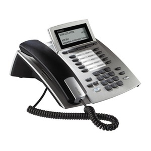 ST 42 IP silber, Systemtelefon für Anlagen mit ASIP Protokoll-Unterstützung
