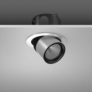 Einbaustrahler LED/20W-3000K D155, breitstr., 2000 lm