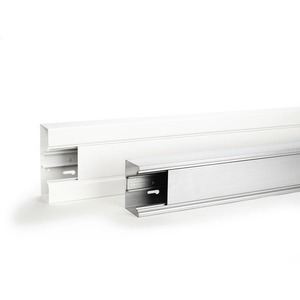 SIGNO BS 70 x 170 UT pulverbe, Brüstungskanal Stahlblech SIGNO BS Unterteil 70 x 170 RAL9010 pb