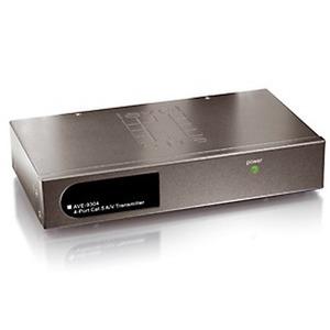 AVE-9304, 4-Port Cat.5 VGA Transmitter
