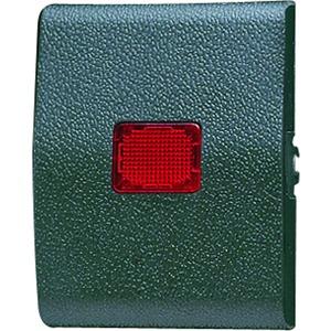 800 KO, Wippe, rotes Lichtaustrittsfenster, für Taster BA 1fach