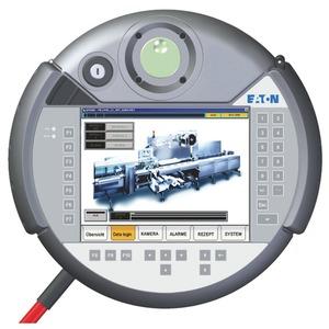 XVM-410-65TVB-1-11, Bedientableau, mobil, 24VDC, 6,5 Zoll, TFTcolor, Ethernet, RS232, Schlüssel, Handrad