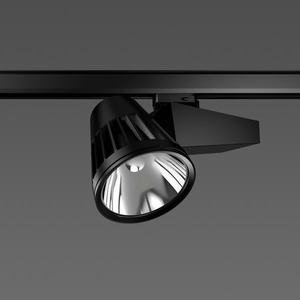 Strahler LED/45W-3100K 290x120, mittel, 3800 lm