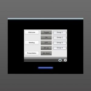 Bedienstelle DALI PRO Touch Panel