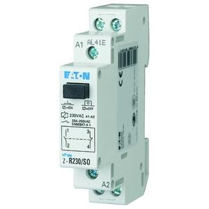 Z-R230/SO, Installationsrelais, 230VAC/50Hz, 1S+1Ö, 20A