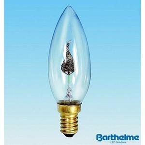 Kerzenlampe Flackerkerze 230V 3W E14