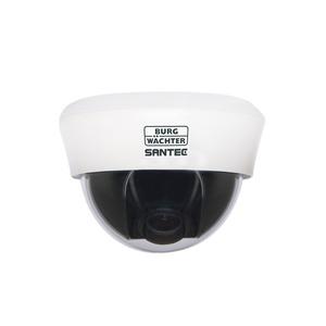 SANTEC 1080p HD-CVI Kuppelkamera 2,8 - 11 mm manuelles Vario Objektiv, IP-44