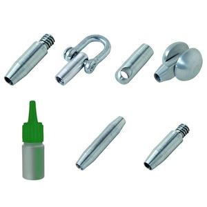 Anfangs/Endhülse WW 1/4 Zoll für Stab d: 4,5 mm, für Smart Butler