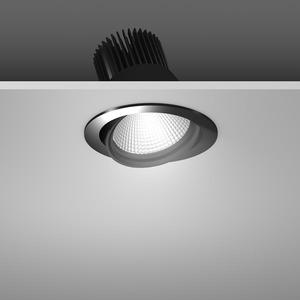 Einbaustrahler LED/39,2W-3100K D157, H142, dim.DALI, 3550 lm