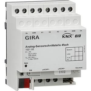 Analog-Sensorschnittst. 4f KNX REG