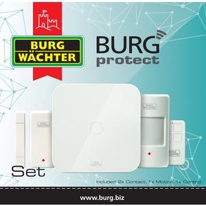 BURGprotect SET 2200, Alarmanlage Startpaket BURGprotect SET 2200