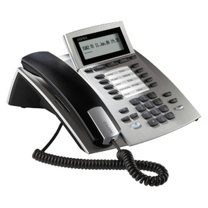 ST 22 silber, Systemtelefon für Anlagen mit S0- und UP0-Schnittstelle
