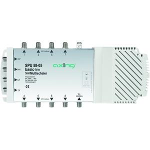 Multischalter, 5 Eingänge, 8 Teilnehmer, 47-2200 MHz, 6-20 dB Dämpfung, Innen